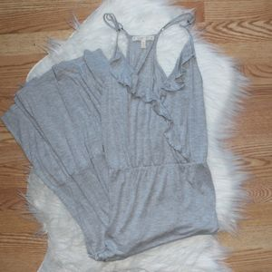 Soft Joie Gray Tank Maxi Dress M
